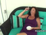 Margo Gets Son Turned On With Her Cigarette