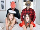 DaughterSwap – Daughters Tricked For A Treat By Their Dads